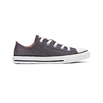 Converse Chuck Taylor All Star Youth Coastal Pink Ox Trainers
