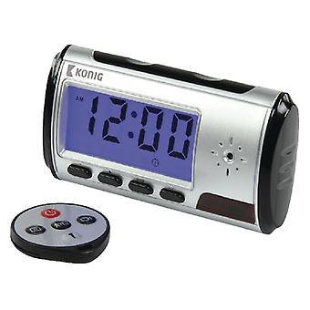 Horloge de table de Knig avec la caméra cachée