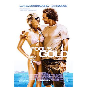Fool's Gold (Double Sided Advance) Original Cinema Poster