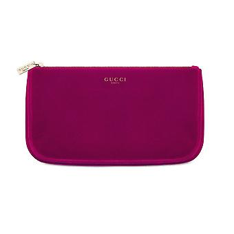 Gucci burgundy velvet makeup cosmetic bag travel pouch