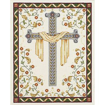 His Cross Counted Cross Stitch Kit 8