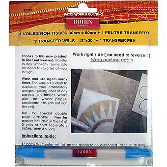 Transfer Veil & Pen Set-  62595
