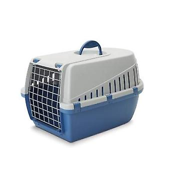 Trotter 2 Pet Carrier Airline Approved Blue/grey 56x37.5x33cm (Pack of 3)