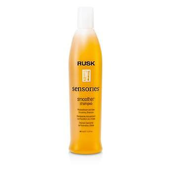 Rusk Sensories lisse Passiflore et Aloe Lissage Shampooing - 400ml/13.5oz