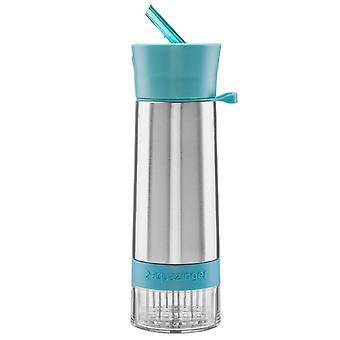 Pift noget Aqua Zinger smag Infuser vandflaske - blå