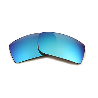 New SEEK Polarized Replacement Lenses for Oakley Sunglasses GASCAN Blue Mirror
