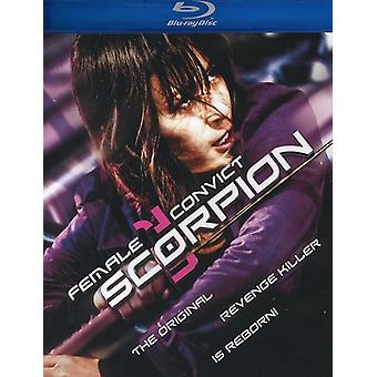 Kvindelige dømme Scorpion [Blu-ray] USA importerer