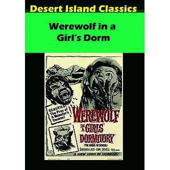 Werewolf in a Girl's Dorm [DVD] USA import