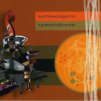 Matthew Shipp Trio - Harmonic Disorder [CD] USA import