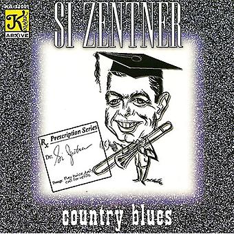 Si Zentner orkester - land Blues [CD] USA importerer