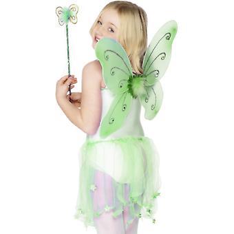 Ali di farfalla verde