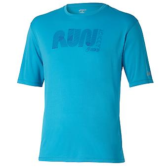 Asics Men SS Graphic Top Laufshirt - 121652-8046