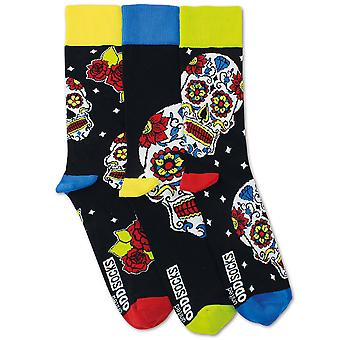United Oddsocks 3 Wesley Skull Socks