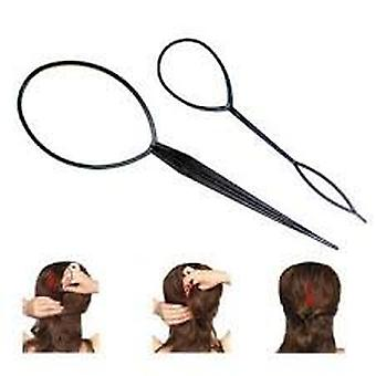 2pcs Hair Braid Ponytail Maker Styling Tool by Boolavard® TM