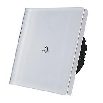 Ich LumoS Luxus Weißglas Panel Touch gesteuert Türklingel
