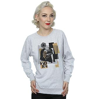 Star Wars Women's The Last Jedi Kylo Ren Patchwork Sweatshirt