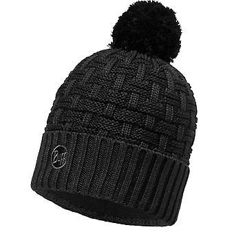 Buff Airon Knitted Beanie - Black