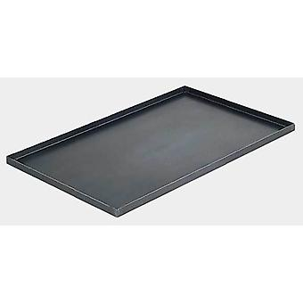 De Buyer Iron Straight Edges plate 40x30 cm 1.2mm (Casa , Cucina , Stoviglie , Per forni)