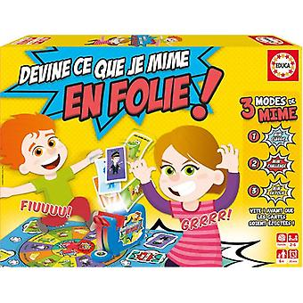 Educa I imitate game Guess What! (Toys , Boardgames , Skills)