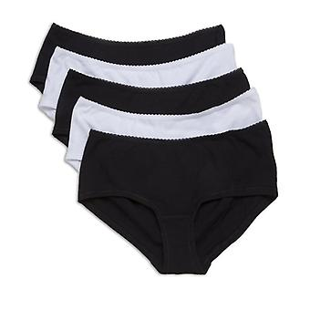 Camille fünf Pack Baumwolle Modal Farbe Mix Shorts