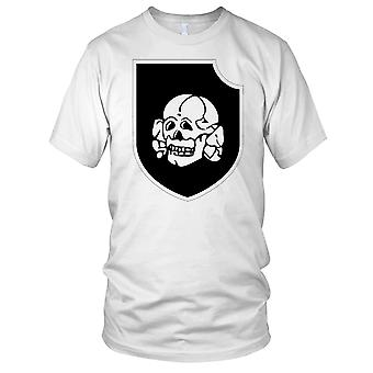 Waffen SS 3rd SS Panzer Division Totenkopf Clean Mens T Shirt