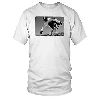 Snowboarden Jump - sport sneeuw wintersport Mens T Shirt