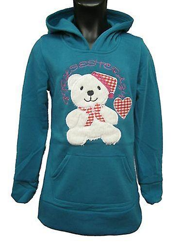 Girls Fleece Hoodies Jumper Teddy