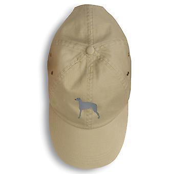 Carolines tesori BB3396BU-156 Scottish Deerhound ricamato berretto da Baseball