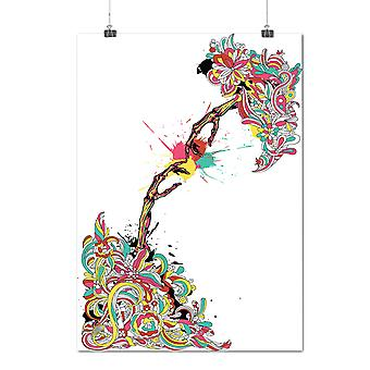 Matte or Glossy Poster with Touch Of Creation Fashion | Wellcoda | *d1273