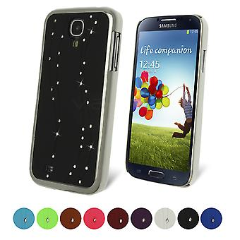 Celicious Curly Brow Crystal Studded Cover Case for Samsung Galaxy S4 I9500