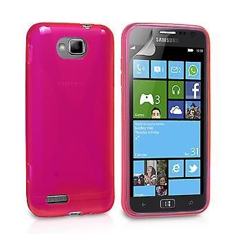 Yousave Zubehör Samsung Ativ S X-Line Case - Hot Pink