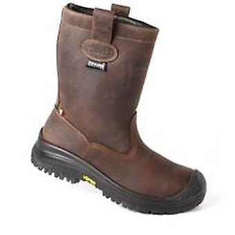 7330NV 45 Beta Size 10.5/45 Greased Nubuck Boot Waterproof With Thinsulate