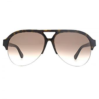 Stella McCartney Falabella Pilot Sunglasses In Havana