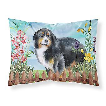 Bernese Mountain Dog Spring Fabric Standard Pillowcase