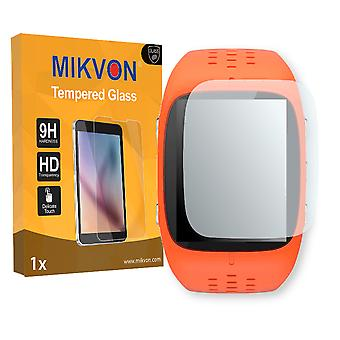 Polar M430 Screen Protector - Mikvon flexible Tempered Glass 9H (Retail Package with accessories)