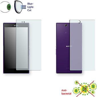 Sony Xperia Z ultra LTE front + back screen protector - Disagu ClearScreen protector (1 front / 1 rear)