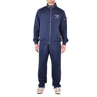 Paul & shark men's MCBI234137O Blau cotton jumpsuit