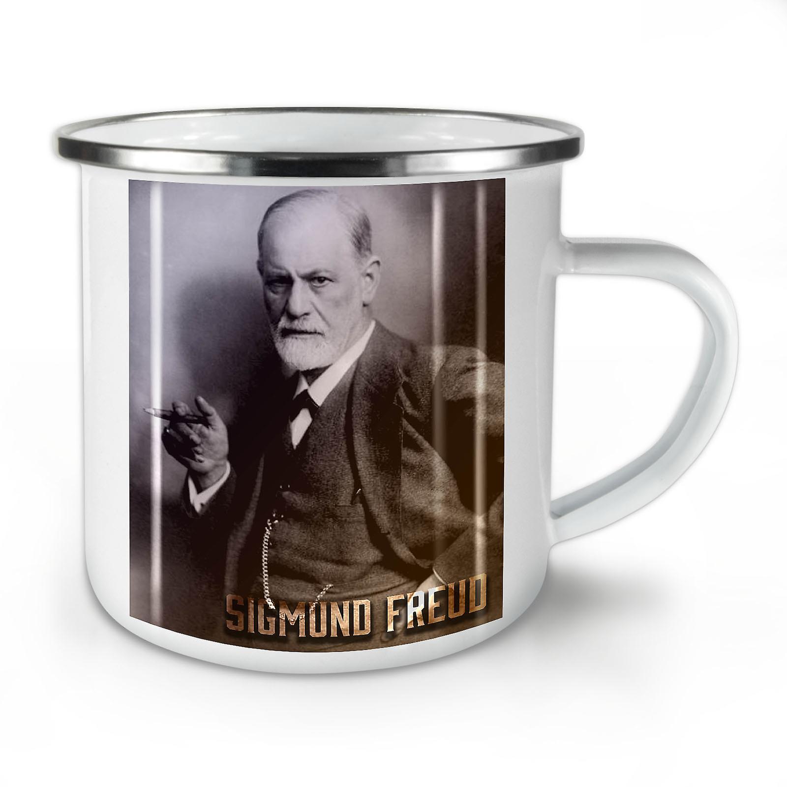 Émail Freud OzWellcoda Sigmund Whitetea Nouveau Café Mug10 VqMLzSUpG