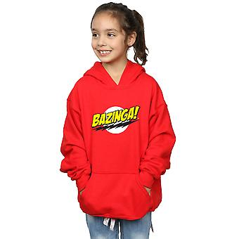 The Big Bang Theory Girls Sheldon Bazinga Hoodie