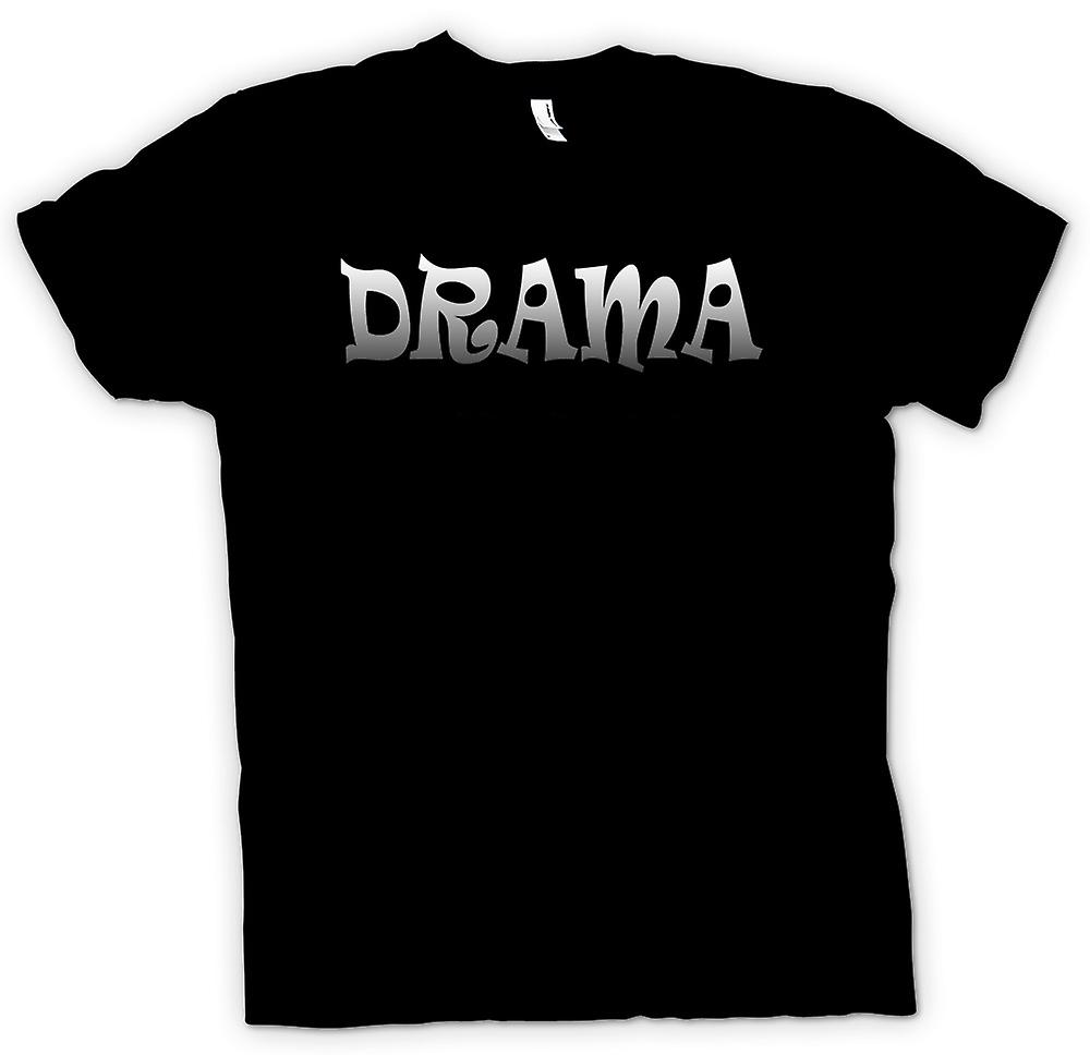 Mens t-shirt-Drama Queen - divertenti - Hen Night