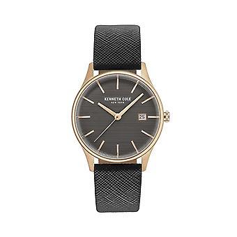 Montre montre-bracelet en cuir Kenneth Cole New York féminine KC15109001