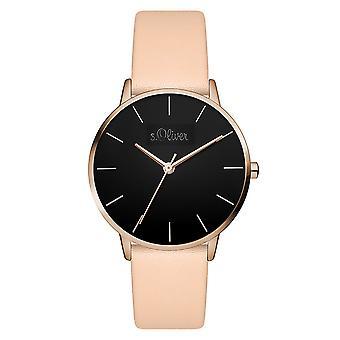 s.Oliver レディース ウォッチ腕時計革など-3527-LQ