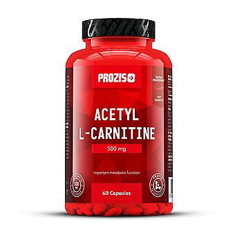 PROZIS - acetyl L-carnitine 500mg 60 capsules