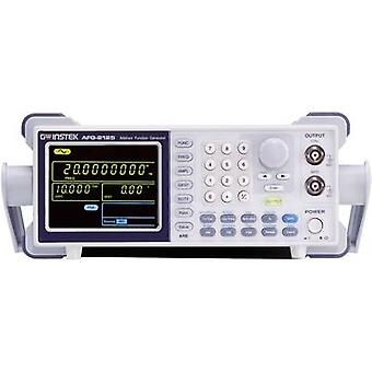 GW Instek AFG-2105 Mains-powered 0.1 Hz - 5 MHz 1-channel Arbitrary, Sinus, Rectangle, Noise, Triangle Manufacturers standards (no certificate)