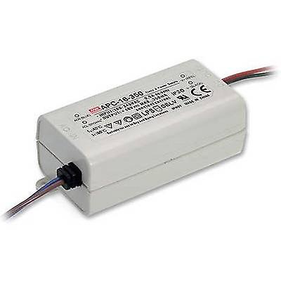 Mean Well APC-16-700 LED driver Constant current 16 W 0.7 A 9 - 24 Vdc not dimmable, Surge protection