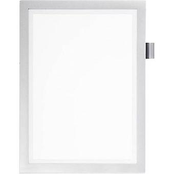 Durable 499323 DURAFRAME NOTE A4 - 4993 Ad frame (self-adhesive) A4 Silver (W x H) 238 mm x 324 mm 1 pc(s)