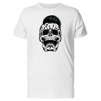 Punk-Skull Illustration T-Shirt Herren-Bild von Shutterstock