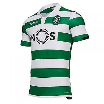 2018-2019 sporting Lissabon authentische Heim Fußballtrikot (Kids)