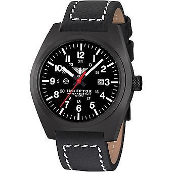 KHS acero interceptor negro reloj de KHS. INCBS. LBB