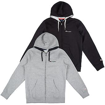 Champion men's Zip Hoodie hooded full Zip Sweatshirt 212066